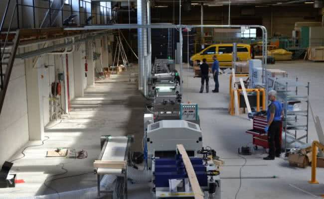 Axel-Wirth-Produktionslinie