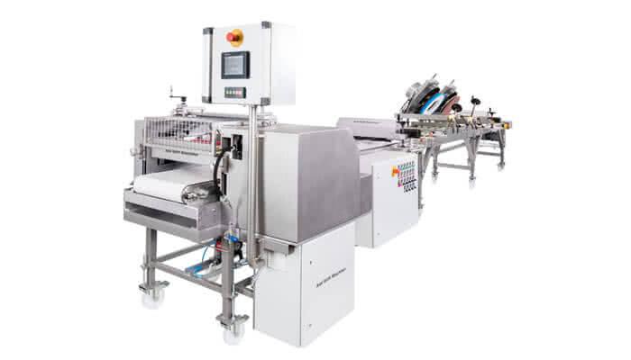 Dosierwalzenmaschine Typ DDWO mit Vertreibereinheit_Typ VE400