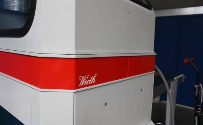 Leistenspritzautomat Wirth SPW 400 Case