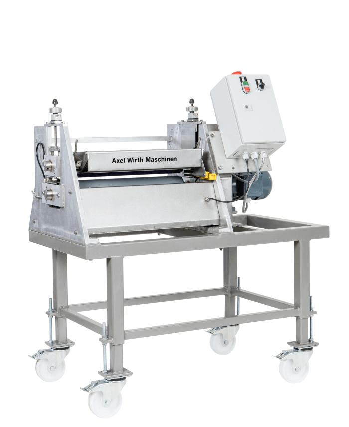 Walzenauftragsmaschine LW100-450 zur Beschichtung von Flächen