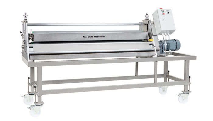 Walzenauftragsmaschine LW 120 (Kleberauftagssystem, Ölauftragsmaschine)